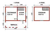 Проект дачного дома №9