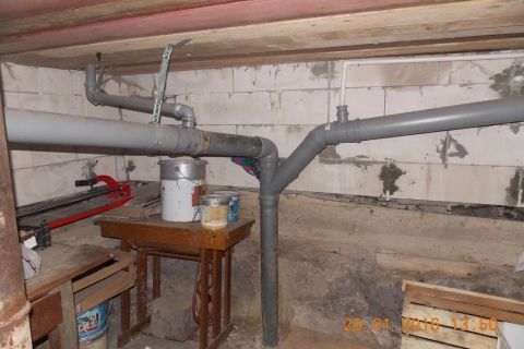 Монтаж системы канализации для частных домов во Владимирской области